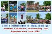 Чемпионат и Первенство г.Ростова-на-Дону — 2013