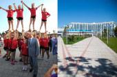 Федерация Черлидинга России в Образовательном центре для одаренных детей «Сириус» в Олимпийском парке г. Сочи