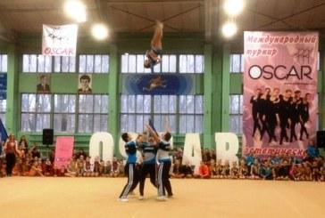 Черлидеры юга России поддержали Открытый Чемпионат Ростовской области по эстетической гимнастике
