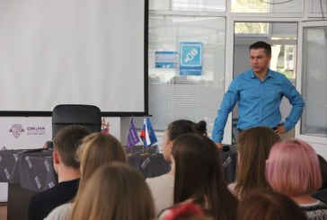 С юными спортсменами встретился вице-президент «Федерации черлидинга в России»