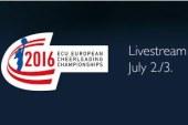 Прямая трансляция Чемпионата и Первенства Европы по черлидингу!