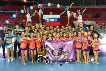 Поздравляем команды Сборной Ростовской области по черлидингу с победой на Всероссийских соревнованиях в г.Астрахань!