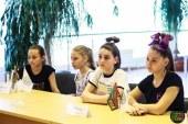 Беседа с капитанами команд черлидеров
