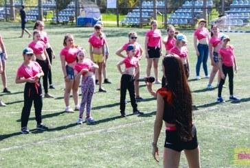 Мастер-класс по спортивно-бальным танцам для юных черлидеров
