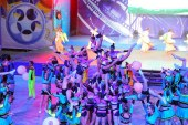 Наши черлидеры на Открытии XXV Международного детского кинофестиваля «Алые паруса Артека»