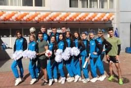 Спортсмены Федерации черлидинга Юга России всегда в самом центре событий!
