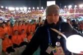 Чирлидеры выступили на Закрытии олимпийских игр!