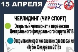 15 апреля 2018 Кубок Федераций и Чемпионат ЦФО