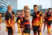Вожатые сборной команды ART-FIRE на фестивале «Яркие! Майские! Твои!»