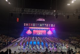 В Китае (г. Нанкин) состоялись седьмые открытые соревнования по чир спорту (чирлидингу)