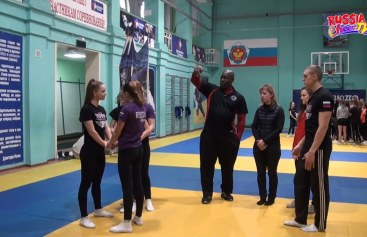 В Таганроге прошёл мастер-класс Дэррона Форреста